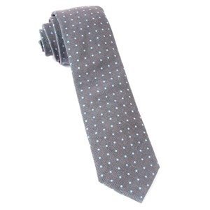 corduroy dots brown ties