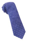Ties - Corduroy Dots - Royal Purple