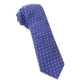 Royal Purple Corduroy Dots ties