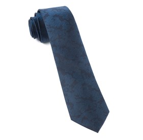 Navy Refinado Floral boys ties