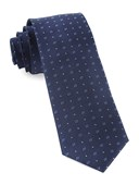 Ties - Geo Key - Navy