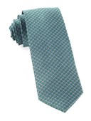 Ties - Flower Network - Emerald Green