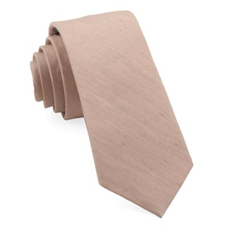 bhldn linen row rose quartz ties