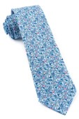 Ties - Floral Buzz - Sky Blue