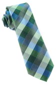 Ties - Pitch Plaid - Kelly Green