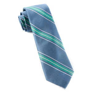 rival stripe mint ties