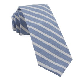 Light Blue Canopy Stripe ties