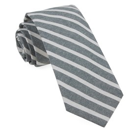 Army Green Canopy Stripe ties
