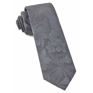 key west cotton charcoal ties
