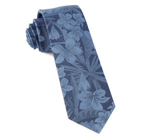 Deep Serene Blue Key West Cotton ties