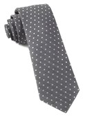 Ties - Shock Dots - Charcoal