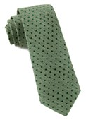 Ties - Shock Dots - Clover Green