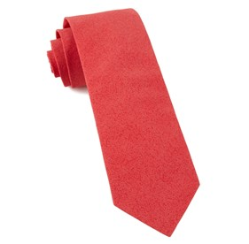 Persimmon Red Solid Patrol ties