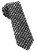 Ties - Timber Stripe - Black