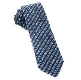 Timber Stripe By Dwyane Wade Navy Ties