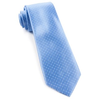 mini dots light blue ties