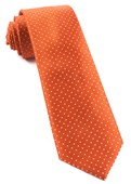 Ties - Mini Dots - Orange