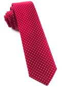 Ties - Mini Dots - Red