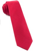 Ties - Pinpoint - Red