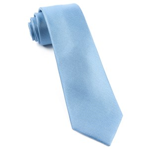 solid texture light blue ties