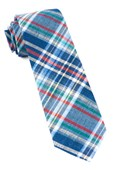 Ties - Textbook Tartan - Navy