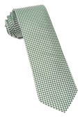 Ties - Bahama Checks - Hunter Green