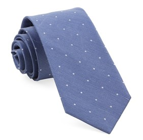Bulletin Dot Light Cornflower Ties