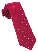 Ties - Bulletin Dot - Red