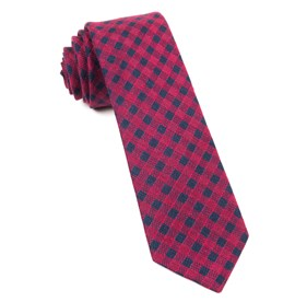 Red Canyon Checks ties