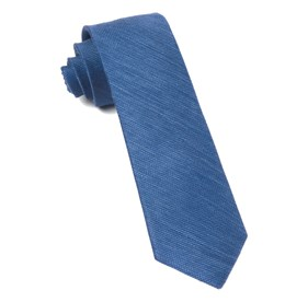 French Blue Jet Set Solid ties