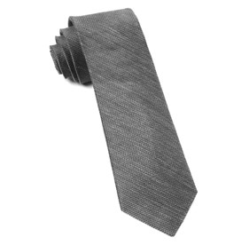 Grey Jet Set Solid ties
