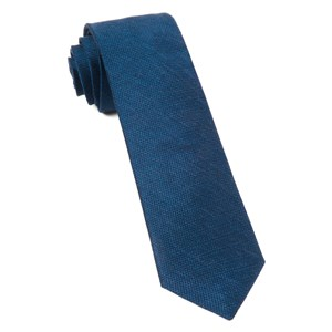 jet set solid navy ties