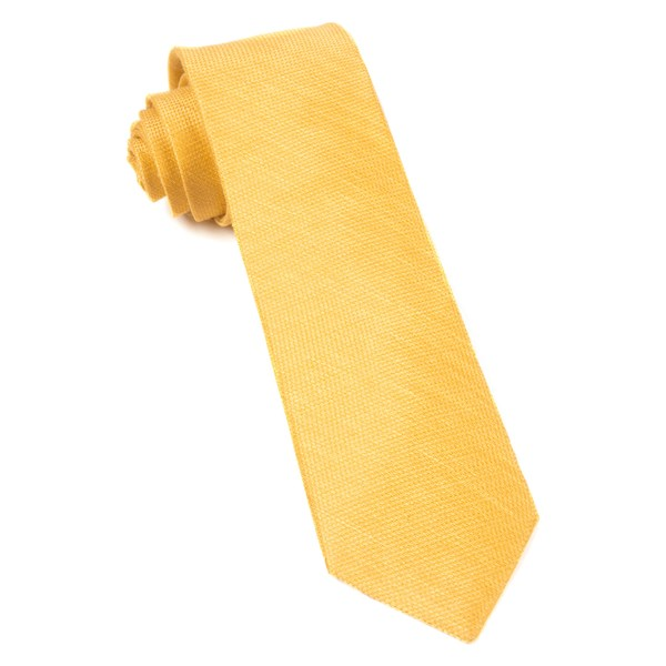 Yellow Gold Jet Set Solid Tie