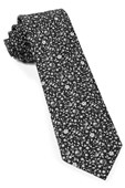 Ties - Peninsula Floral - Black