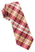 Ties - Rnr Plaid - Reds