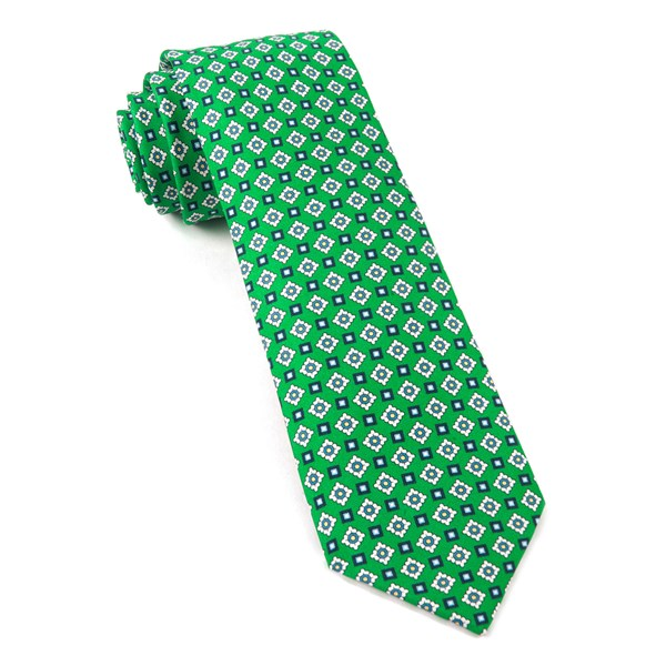 Apple Green South Padre Geos Tie