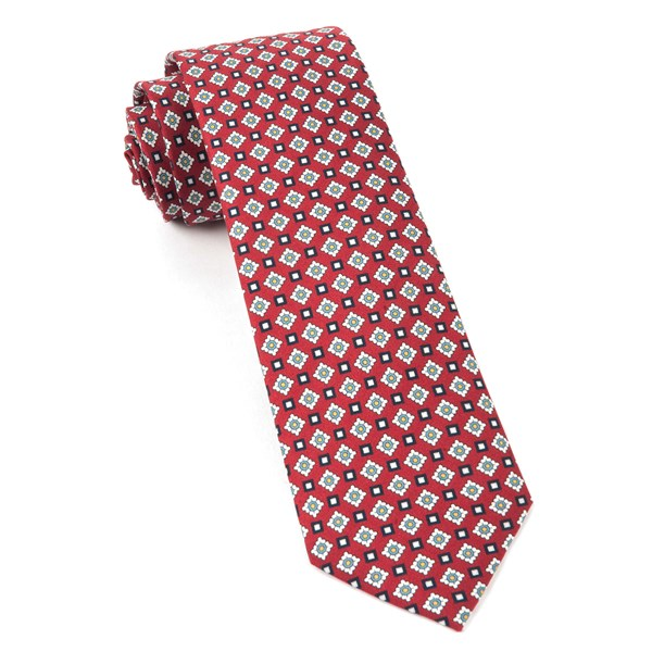 Red South Padre Geos Tie