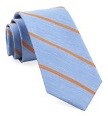 Ties - Spring Break Stripe - Light Blue