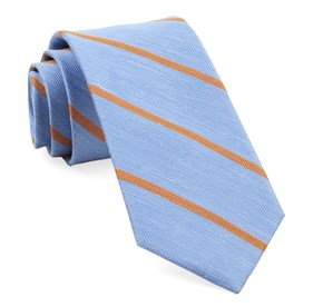 Light Blue Spring Break Stripe boys ties
