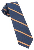 Ties - Spring Break Stripe - Navy
