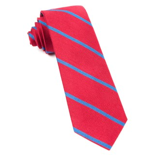 spring break stripe apple red ties
