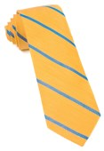 Ties - Spring Break Stripe - Yellow Gold