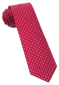 Ties - United Medallions - Red