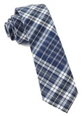 Ties - Eclipse Plaid - Navy