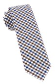 Ties - Fair-and-square Gingham - Brown