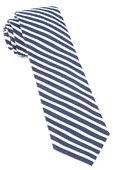 Ties - New Balance Stripe - Navy