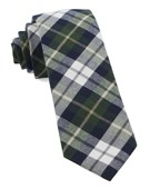Ties - Scotch Plaid - Hunter Green