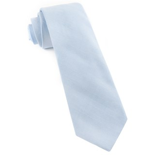 Solid Flex Light Blue Tie