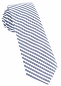 Ties - Southern Cotton Stripe - Blue