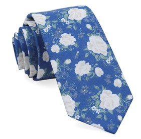 Royal Blue Hodgkiss Flowers ties